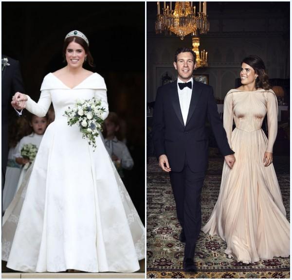 robes de mariée de la princesse Eugénie
