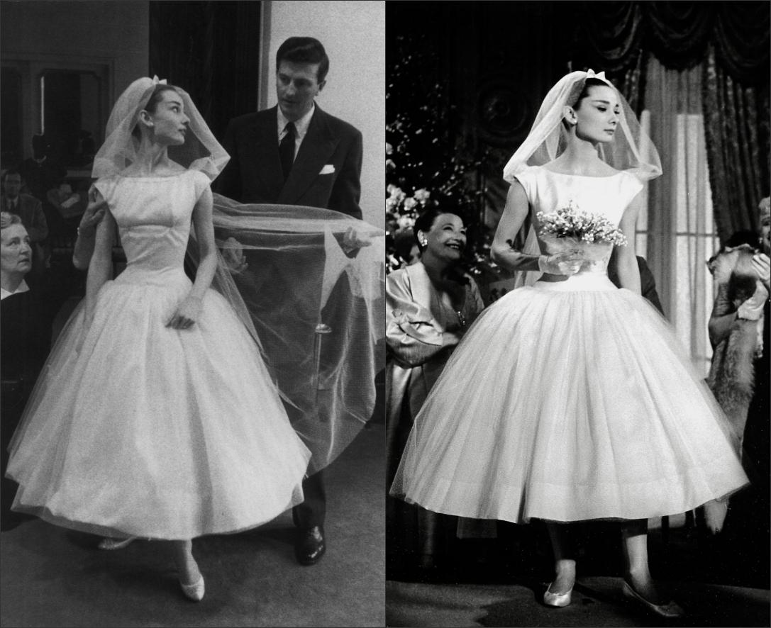 robe de mariée deAudreu Hepburn