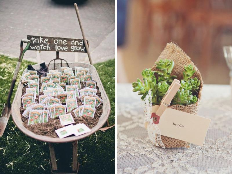 cadeaux graine et plant pour mariage