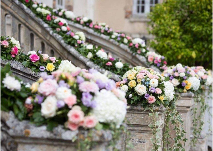 mariage romantique florale