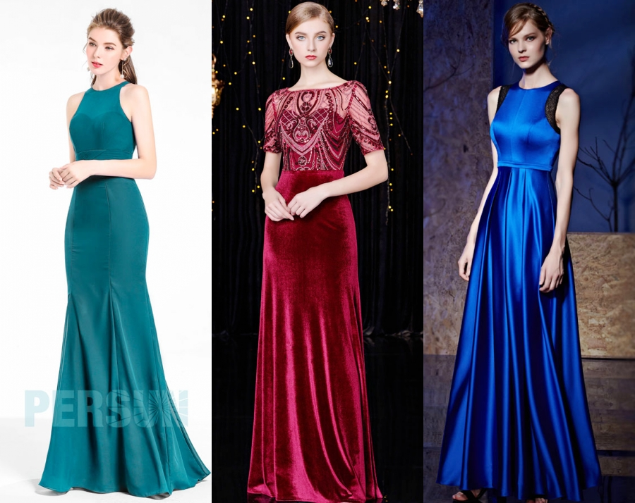 robe invité mariage longue persun