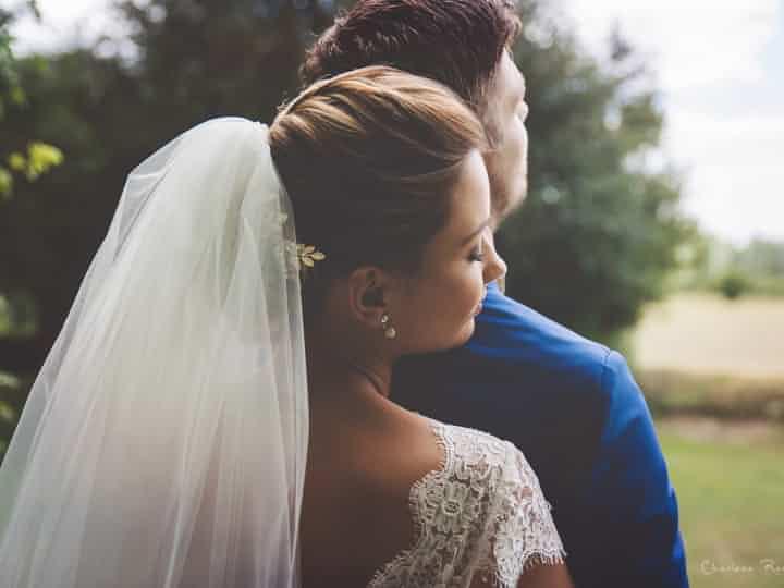 mariée avec voile