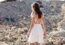 robe de mariée 2020 courte dos nu haut avec manche courte