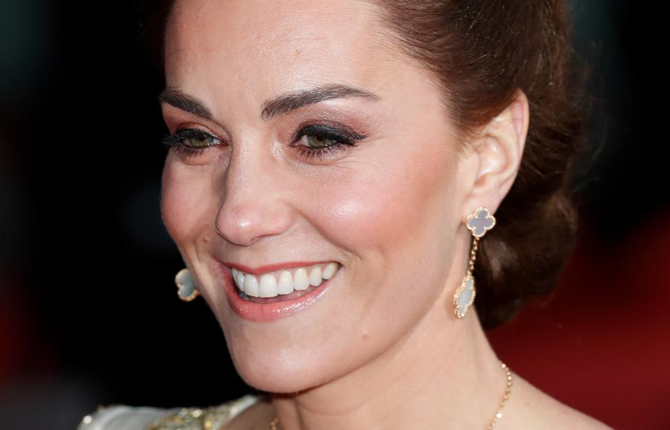 maquillage de princesse kate au baftas 2020