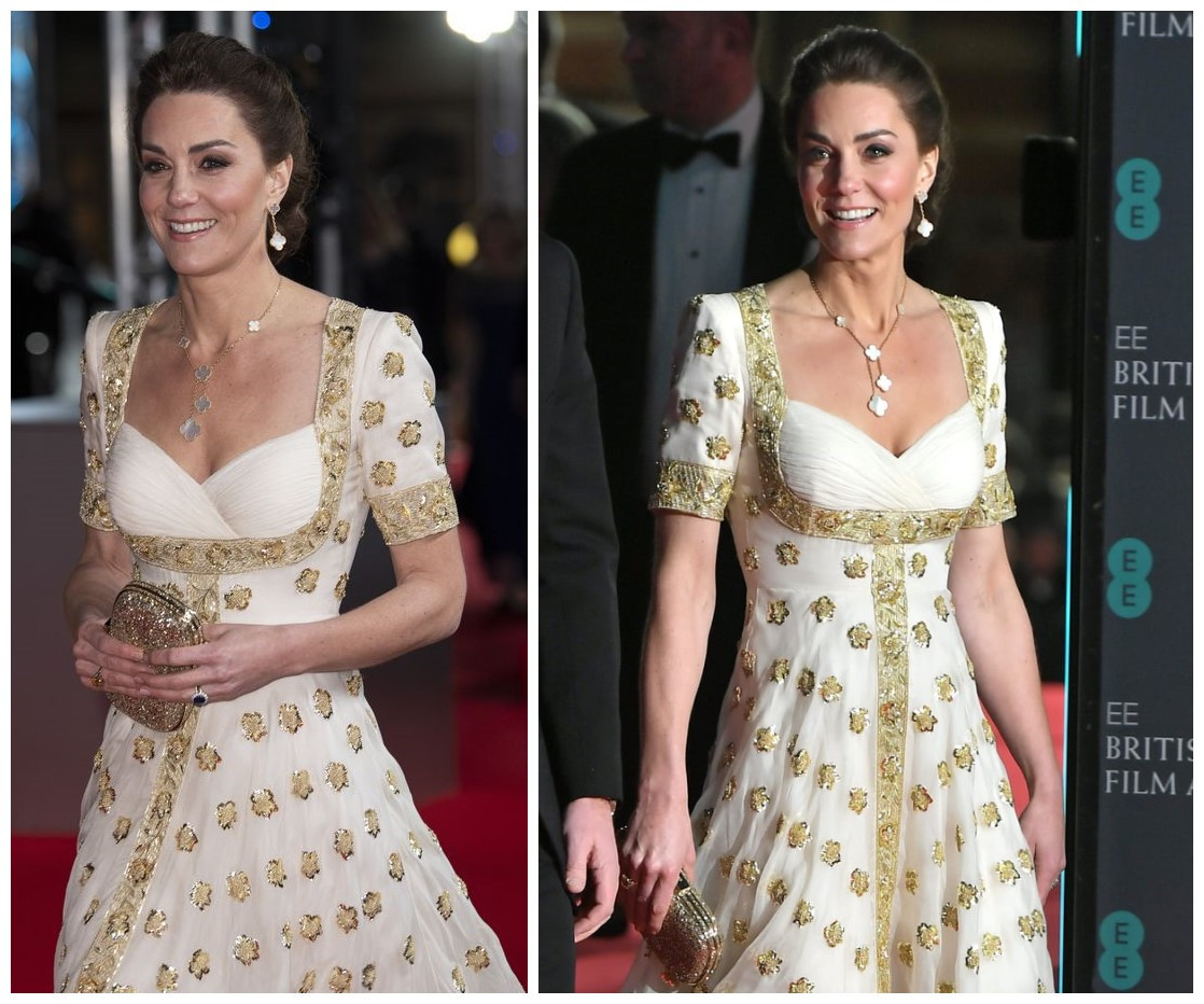 robe de cérémonie de kate middleton 2020