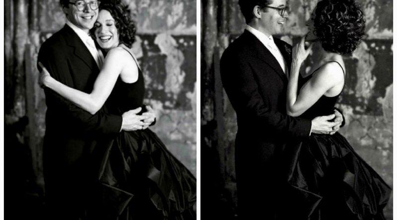 robe de mariée noire pour mariage moderne