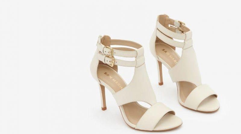 chaussure de mariée talon haut ivoire